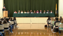 Photo of the candidates taken by ABC 23 KAEF